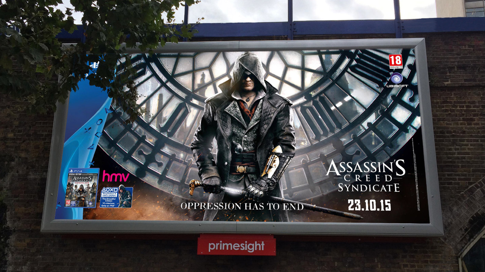 Assassins Creed Syndicate tube tunnel wrap